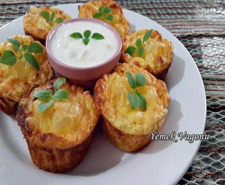 Peynirli Patates Sufle