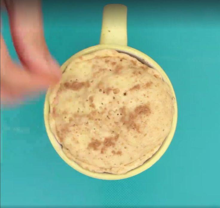 Queque de canela en microondas - #MaaaRicoySimple