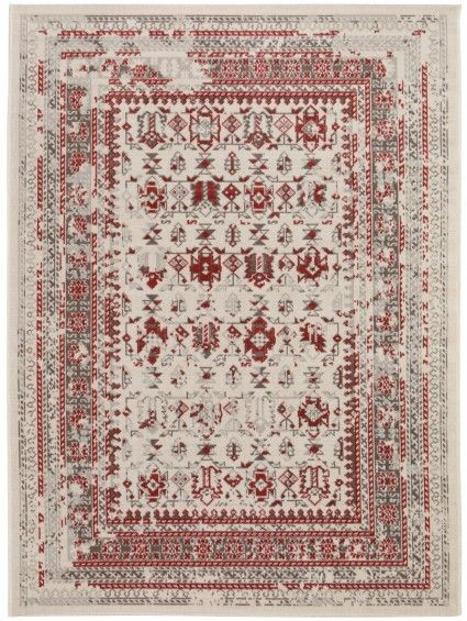 Antique Rug Beige/Red