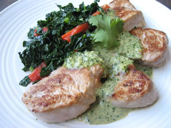 136 best marks daily apple all primal recipes images on pinterest pork tenderloin with cilantro pesto malvernweather Choice Image