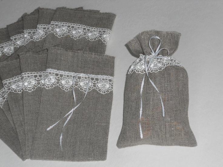 Burlap Wedding Favor Bags Wholesale : about Burlap Favor Bags on Pinterest Burlap bags, Rustic wedding ...