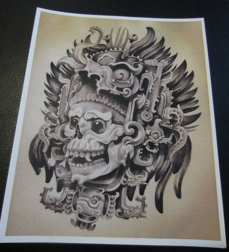 fernando casillas mayan headdress art print poster tattoo flash tattoo ideas pinterest. Black Bedroom Furniture Sets. Home Design Ideas