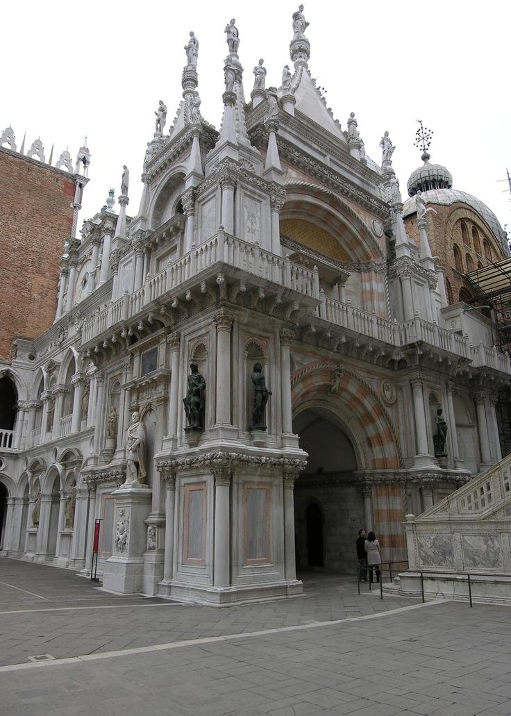 Doges' Palace - Venice, Italy - Foscari Arch (triumphal)