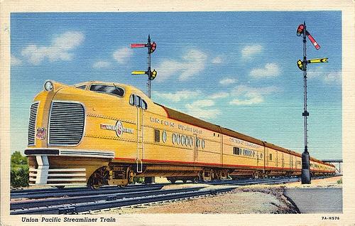 Union Pacific Streamline Train