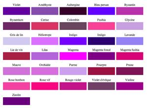 Les 25 meilleures id es de la cat gorie couleurs de - Couleur lilas peinture ...