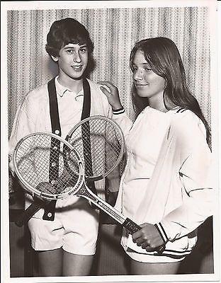 PHYLLIS GRABER JENSEN PRESS PHOTO AMATEUR TENNIS PLAYER BATES COLLEGE 1972