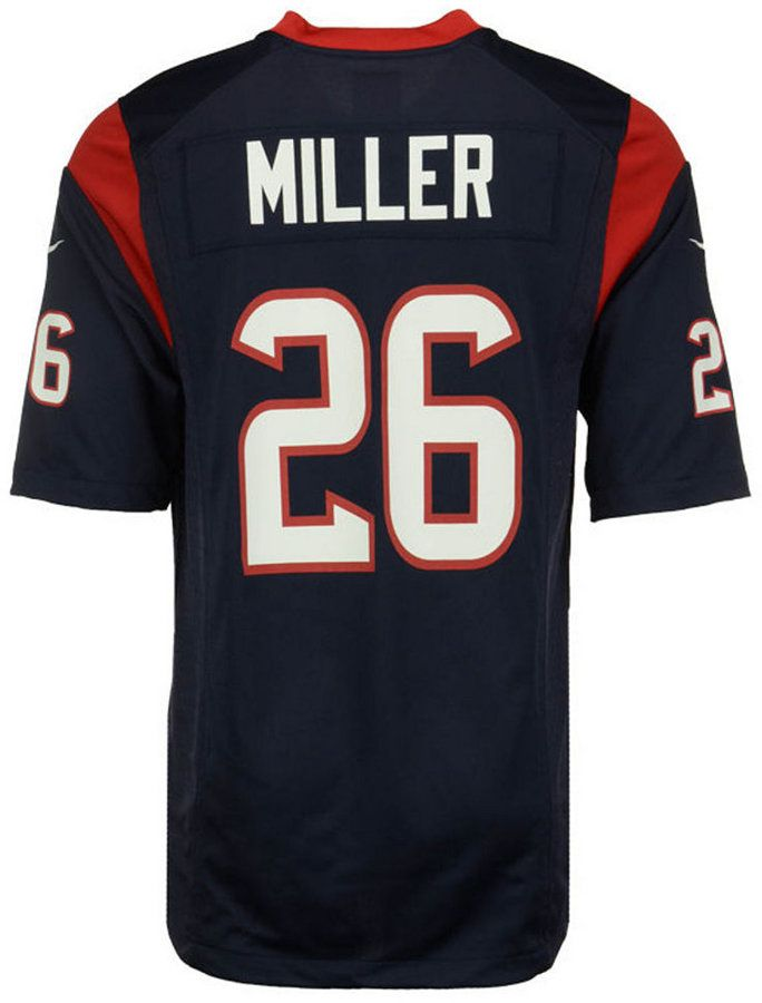 Nike Lamar Miller Houston Texans Game Jersey, Big Boys (8-20)