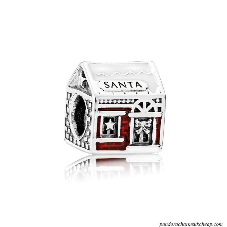 Pandora Christmas Charm - Santas Home
