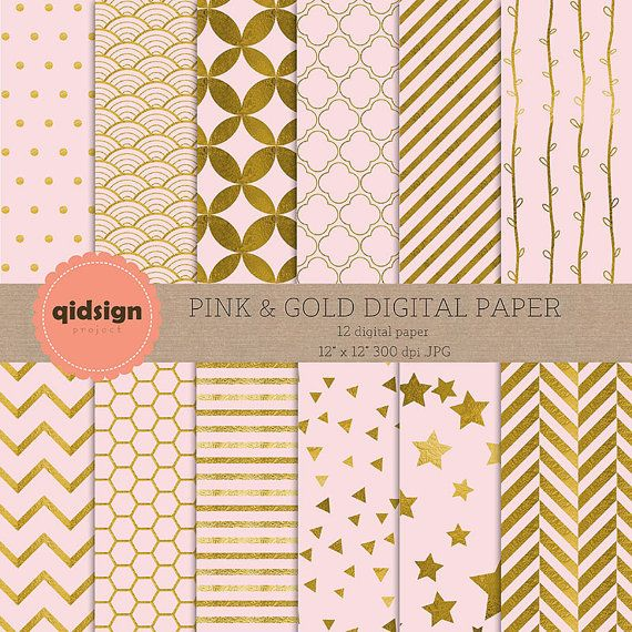 Hey, I found this really awesome Etsy listing at https://www.etsy.com/listing/241668870/buy2get1free-pink-gold-digital-paper