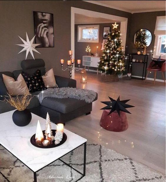 Weihnachtsdeko Stuhl.Weihnachten Sofa Tisch Stuhl Coozzy Wohnen An Weihnachten