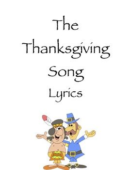 The Thanksgiving Song