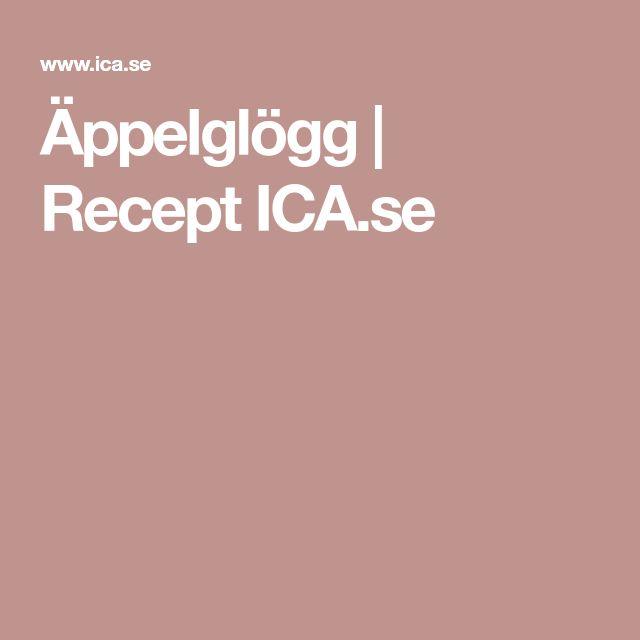 Äppelglögg   Recept ICA.se