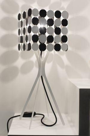 """Lampy - Le Labo Design - """"Lampe carrée damier Bubble"""""""
