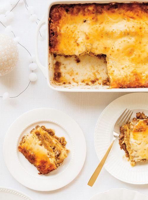 Lasagne-tourti�re Recettes | Ricardo