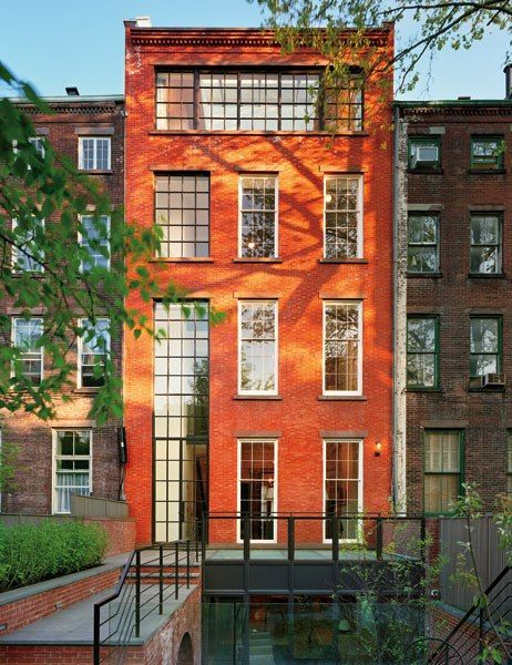 136 best images about home architecture on pinterest for Townhouse architectural styles