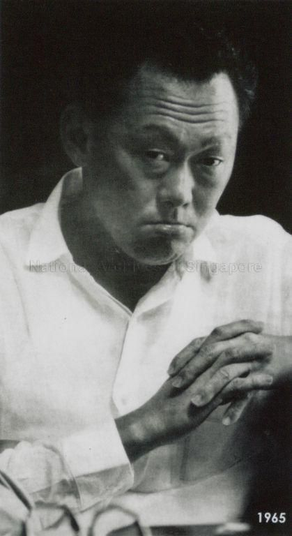 LEE KUAN YEW, PRIME MINISTER OF SINGAPORE.