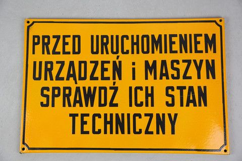 Factory signs