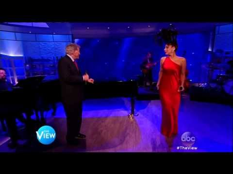 Lady Gaga And Tony Bennett Perform Cheek To Cheek on The View . . . I love both performers as they sing jazz classics