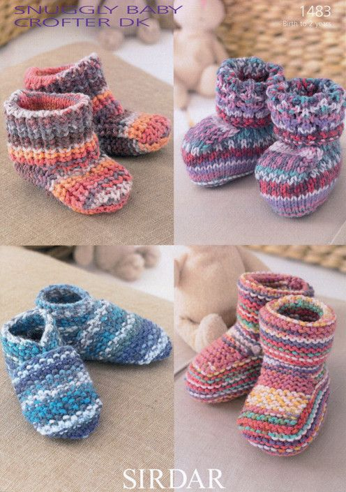 Sirdar--Bootees, Shoes & Boots (birth - age 2)