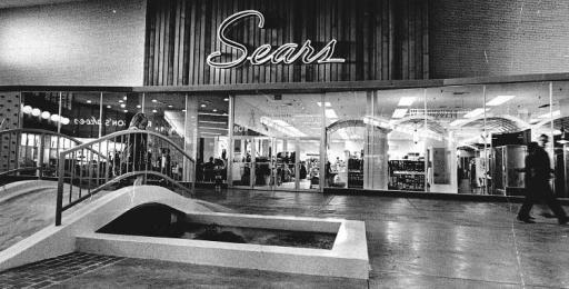 Sears White Lakes Mall Topeka Ks C 1964 Vintage
