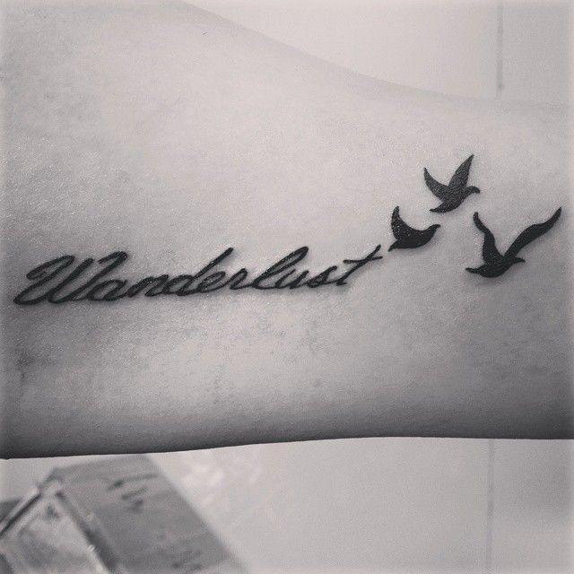 Best 25+ Wanderlust Tattoos Ideas On Pinterest