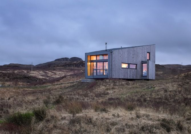 Fiscavaig - The Hen House - Rural Design Architects - Isle of Skye and the Highlands and Islands