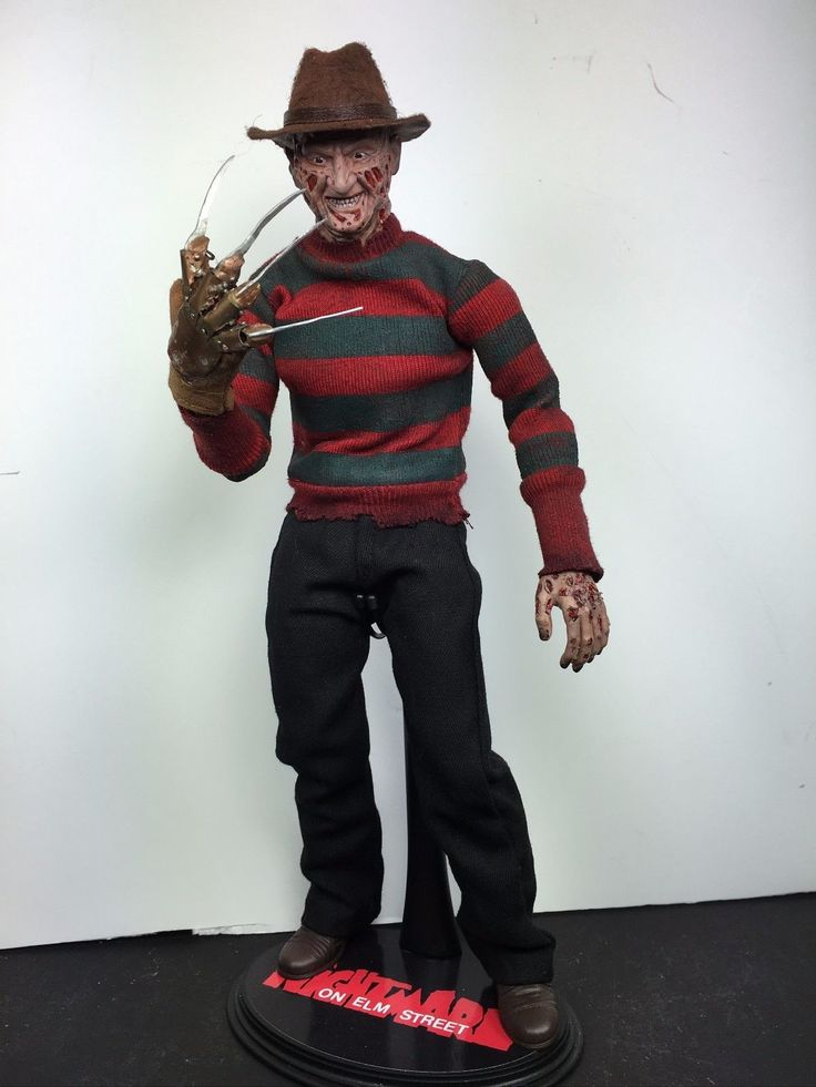 1 6 Scale Custom Freddy Kruger with Real Working Metal Glove Hand Look | eBay