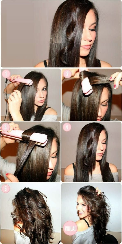 Exceptionnel Coiffure Cheveux Mi Long Avec Lisseur | wendadianasarah site HR08
