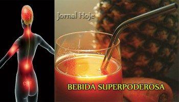Bebida Superpoderosa Para Tratar Articulações Inflamadas e Fortalecer os Ossos!