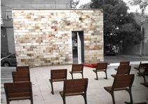 La Sagrada Familia,  primera parroquia al aire libre de Zaragoza. Calle Ateca 37. SHOPIN Zaragoza
