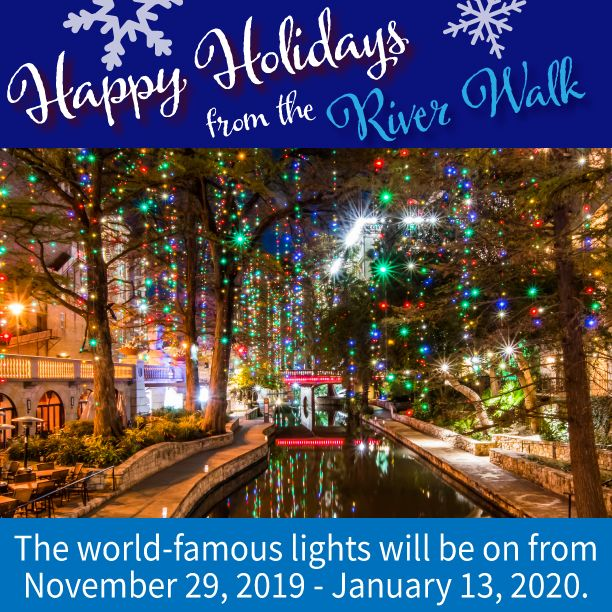 World Famous Christmas Lights On The River Walk Vacation Road Trips River River Walk