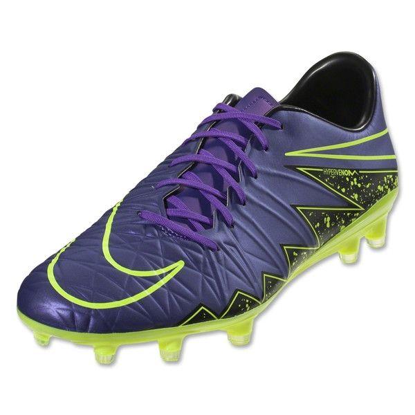 Nike Hypervenom Phatal II FG (Hyper Grape/Volt) · Soccer ShoesBlackest Black FlareNikeFootball ...