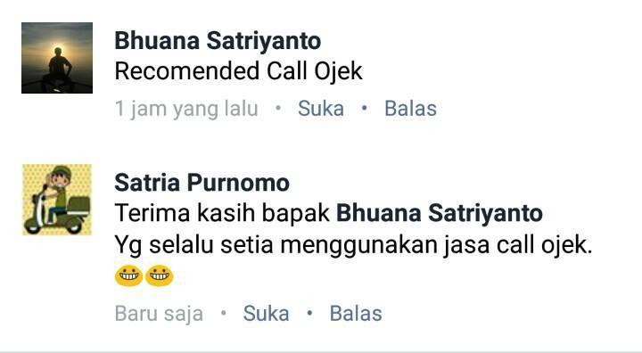 Call Ojek, Layanan Ojek dan Kurir Tarakan Kaltara