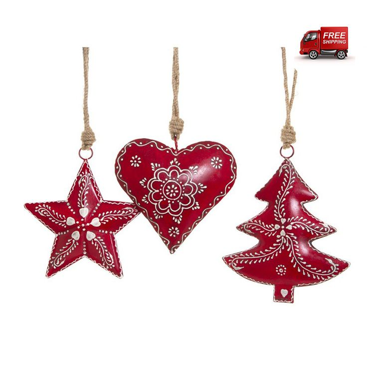 preciouspieces.com.au - Nordic Star, Heart, Tree Christmas Decoration Set, $39.00 (http://www.preciouspieces.com.au/nordic-star-heart-tree-christmas-decoration-set/)