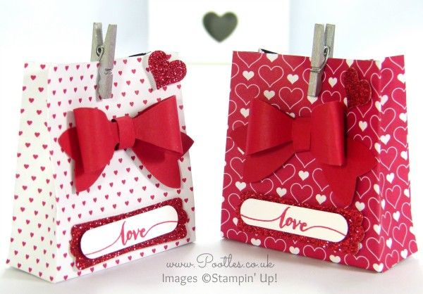 SpringWatch 2015 Red Heart Bow Bag Tutorial