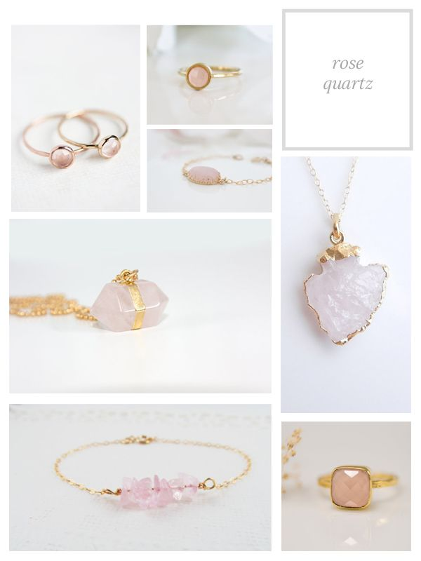 Rose Quartz Jewelry - The Small Things Blog