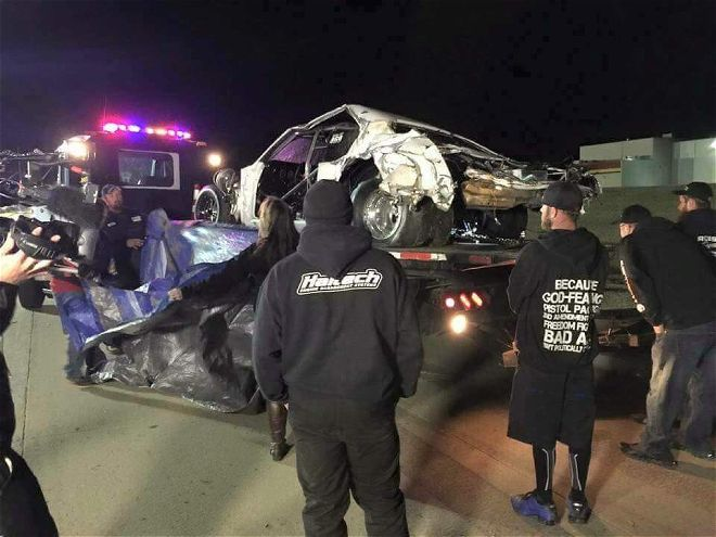 """Video Update: Street Outlaw's Justin """"Big Chief"""" Shearer and Brian """"Chucky"""" Davis OK After Crash During TV Filming"""