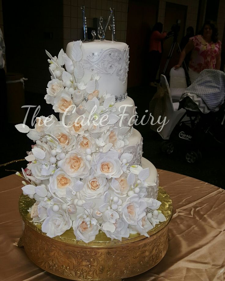 #flowerweddingcake
