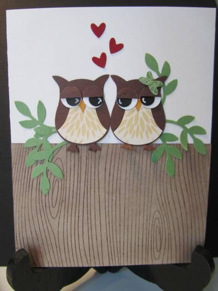 OMG this is adorable! Owl card.