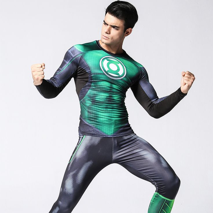 The unique Compressions Suit Green Lantern Crossfit Gear Rashguard DC  -  This t-shirt looks like natural superhero gear! Fits perfectly rash guard tee shirt is ideal for sport and daily usage. This shirt contains lycra, which allows  material  stretch to the several sizes and comes back to normal size. Perfectly breath tissue, the color doesn't fade over time.  Check more at https://idolstore.net/shop/apparels/sportswear/compressions-suit-green-lantern-crossfit-gear-rashguard-dc/