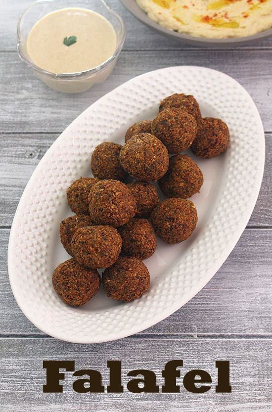Falafel Recipe (3 ways) http://www.spiceupthecurry.com/falafel-recipe-fried-baked-falafel/