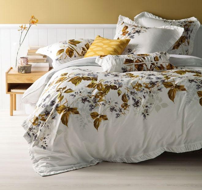 Autumn Linen House Woodend Quilt Cover Set  <3