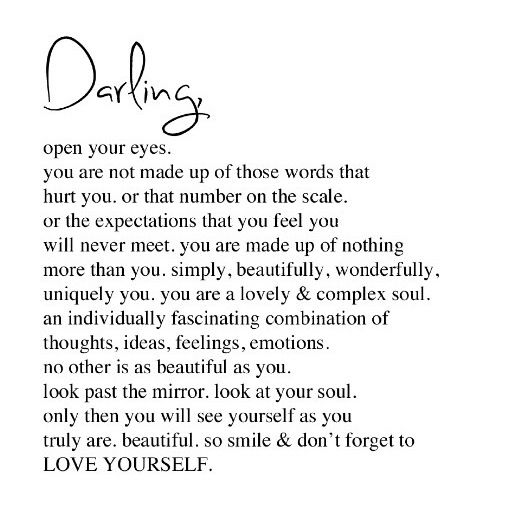 Image result for darling open your eyes
