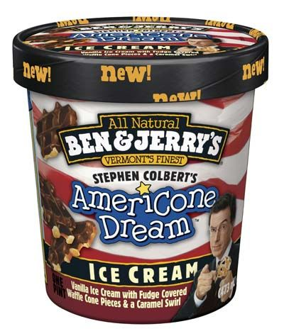 Americone Dream  3/5 I love Stephen Colbert, and this is a mighty good flavor.