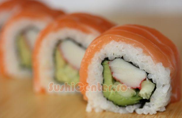 Alaska sushi roll | Recipes to remember | Pinterest ...