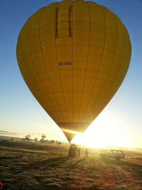Balloon ride at yara valley,melbourne