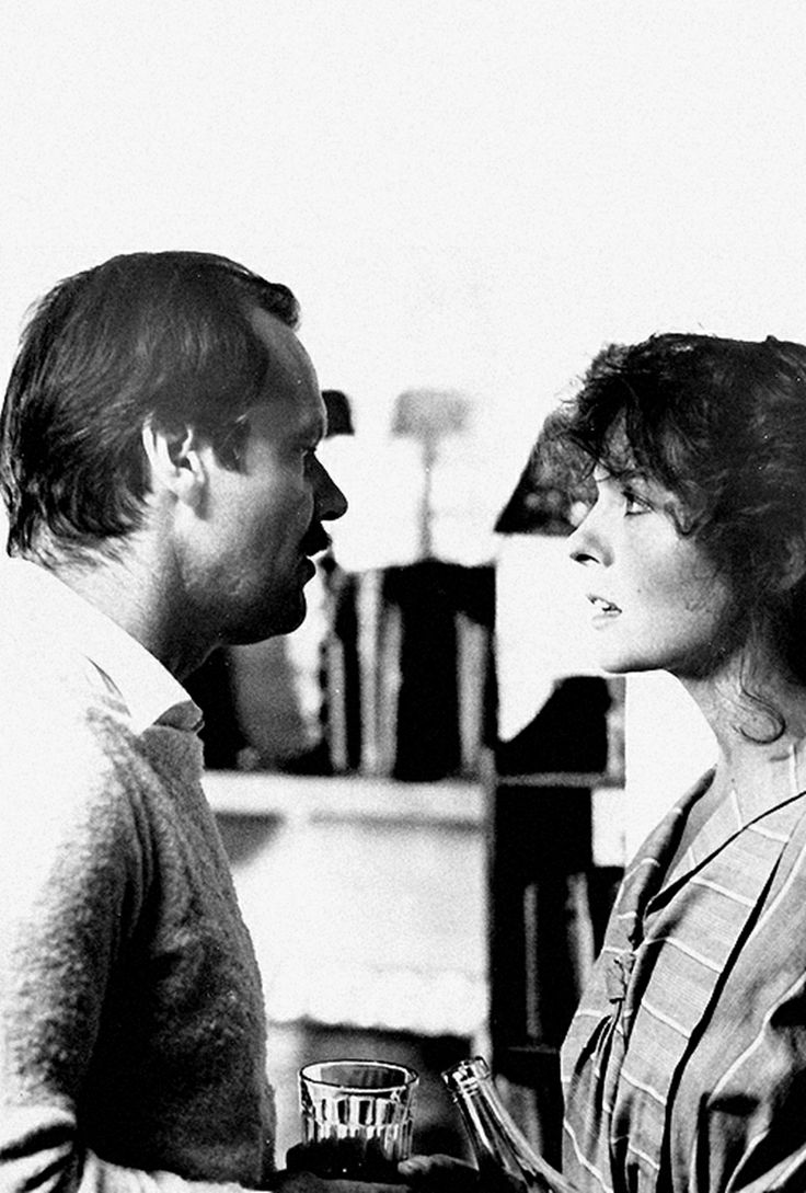 Jack Nicholson and Diane Keaton in Reds, 1981