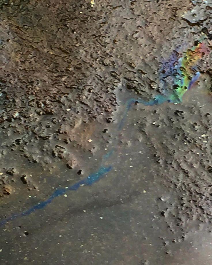 Agua&Aceite #agua #water #leua #oil #lhuile #aceite #urbano #multicolored #multicolours #multicolor #arcoiris #dilucion