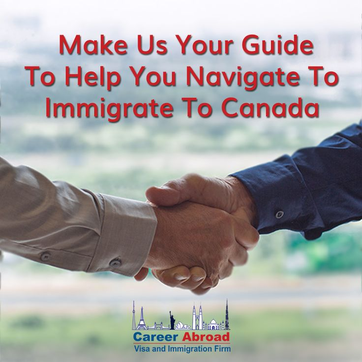 We offer step by step guidance for immigrating to #Canada Visit: http://www.careerabroad.ca/immigration/ for more