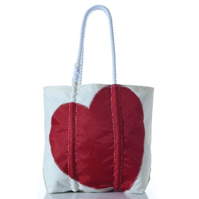 Heart Tote / Sea Bags Maine